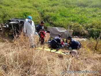 Accidente de tránsito en la vía La Apartada Montelíbano - Diario La Libertad