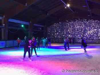 A Ponteranica si pattina sul ghiaccio anche durante le vacanze di Natale - Corriere Bergamo - Corriere della Sera