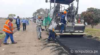 Lambayeque: aseguran que la próxima semana culminarán carretera en Mochumí LRND - LaRepública.pe