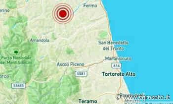 Roseto, terremoto a Montegiorgio, a 62 km da Roseto degli Abruzzi - Tg Roseto