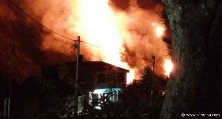 Sexto incendio forestal de este año en Quetame - Semana.com