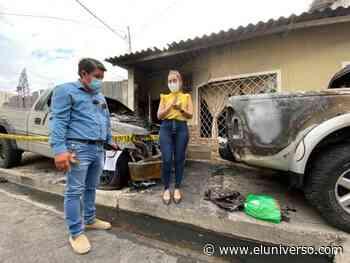 Concejala alterna de Machala presentó denuncia por un presunto atentado en su domicilio - El Universo