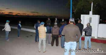 Instalan luminarias en el parque de avistamiento de ballenas en Puerto López Mateos - El Informante Baja California Sur