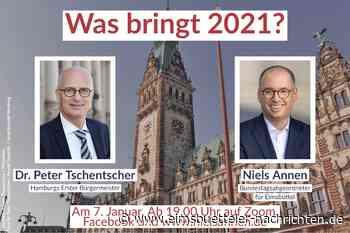 """""""Was bringt 2021?"""" – Niels Annen im Gespräch mit Dr. Peter Tschentscher - Eimsbütteler Nachrichten"""