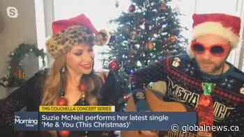 Suzie McNeil performs 'Me & You (This Christmas)'