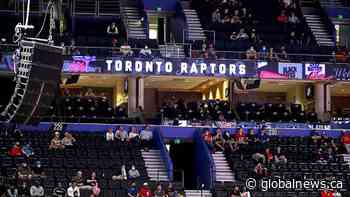 Toronto Raptors open their season in Tampa Bay, FL