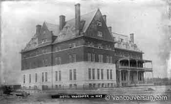This Week in History: 1888: 'Haunch of caribou' among Christmas dining fare at the Hotel Vancouver