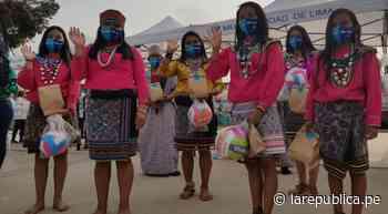 Entregan ayuda a la comunidad shipibo-conibo de Cantagallo por Navidad - LaRepública.pe