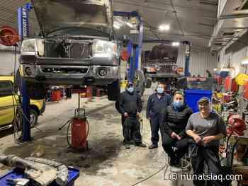Hard at work in Kuujjuaq's auto mechanics class - Nunatsiaq News