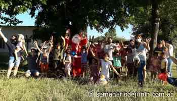"""Navidad en el Campo de la Cruz y en el merendero """"Nueva Esperanza"""" - semanariodejunin.com.ar"""
