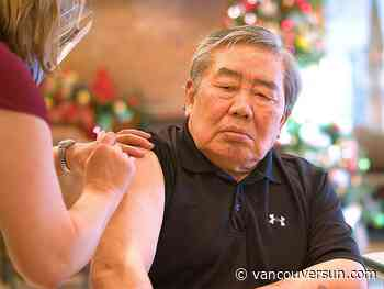 COVID-19: First long-term care resident in Fraser Health vaccinated on Christmas Eve