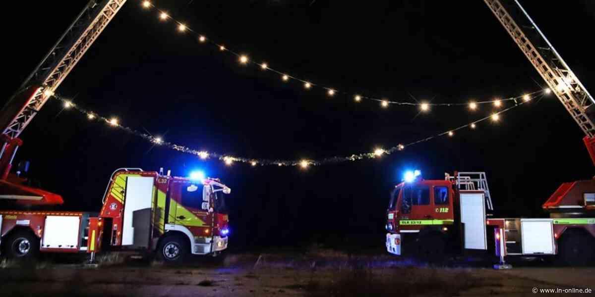 Festliche Botschaft der Feuerwehren aus Bad Segeberg und Wahlstedt - Lübecker Nachrichten