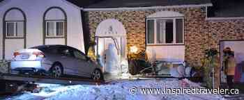 Mascouche: a car crashes into their house - Inspired Traveler
