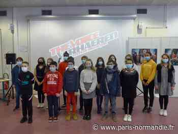 Un concours de chant façon The Voice au collège Verhaeren de Bonsecours - Paris-Normandie