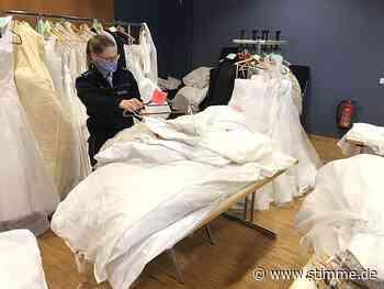 Wenn Frauen ihr Brautkleid bei der Polizei Obersulm abholen - Heilbronner Stimme