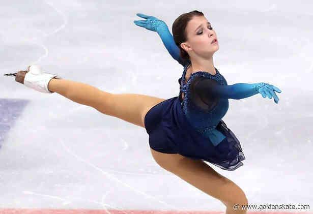 Shcherbakova edges Valieva for lead in Ladies Short at Russian Nationals