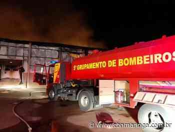 Incêndio atinge granja de aves em Astorga - CBN Maringá