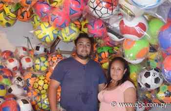En Quiindy, fabricantes de pelotas esperan con ansias repuntar ventas - Nacionales - ABC Color