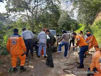 Autoridades buscan a un padre y su hijo desaparecidos en Cocorná - Telemedellín