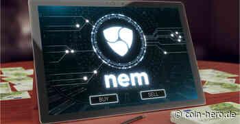 NEM (XEM) sinkt um 24 %, da das Bärenziel 0,20 USD beträgt - Coin-Hero