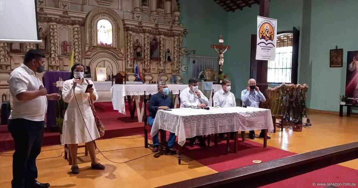 Caapucú será abastecida con agua potable, gracias a un histórico proyecto - La Nación.com.py
