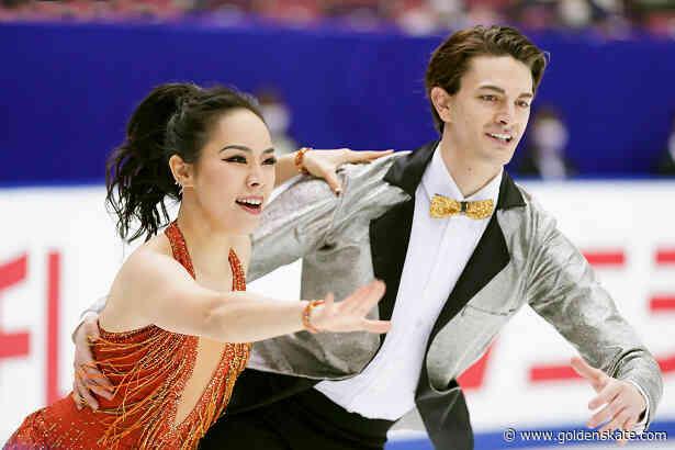 Defending champions Komatsubara and Koleto lead in ice dance at Japanese Nationals