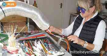 Servicekraft wird Glasperlen-Dreherin - Mittelbayerische
