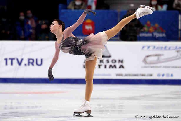 Shcherbakova wins impressive battle; takes third title at Russian Nationals