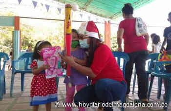 Entregaron más de 7 mil regalos a niños y niñas en Guamal - Hoy Diario del Magdalena
