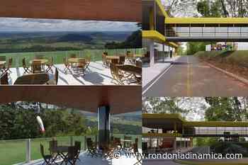Morro Chico Mendes terá mirante com restaurante e lanchonetes com vistas panorâmicas - Rondônia Dinâmica