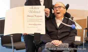 Pilsach ehrt Johannes Berschneider - Region Neumarkt - Nachrichten - Mittelbayerische