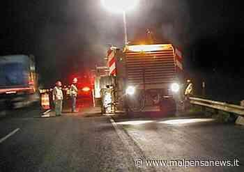 A8 Milano-Varese: chiuso per una notte lo svincolo di Solbiate Arno - malpensanews.it