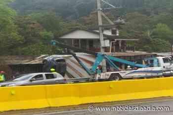 Accidente vehicular en la vía Fusagasugá – Silvania - Noticias Día a Día