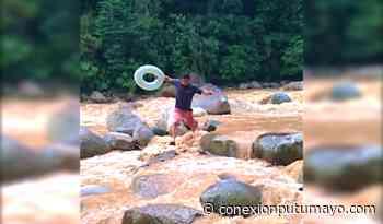 Tremendo susto se llevaron bañistas por crecientes súbitas en Mocoa y Villagarzón - Conexión Putumayo