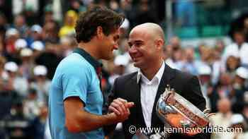 "Andre Agassi lobt Roger Federer: ""Ich wusste sofort, dass er der Beste werden würde"" - Tennis World DE"