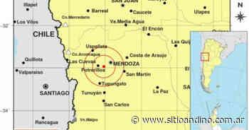 Temblor en Mendoza: el epicentro fue cerca de Potrerillos - Sitio Andino