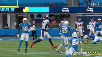 Can't-Miss Play: DaeSean Hamilton dives for dazzling deflected grab on fourth down - Yahoo Canada Sports