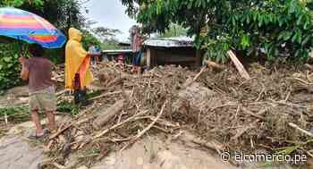 San Martín: desborde de quebrada en Uchiza deja desabastecidas de agua a 5 mil familias - El Comercio - Perú