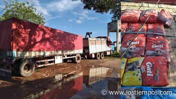 Villamontes: Aduana y FF.AA. comisan camión con mercancía valuada en 59.300 dólares - Los Tiempos