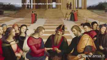 Citta' di Castello, il clone dello 'Sposalizio della vergine' di Raffaello torna a casa - Italia - Agenzia ANSA