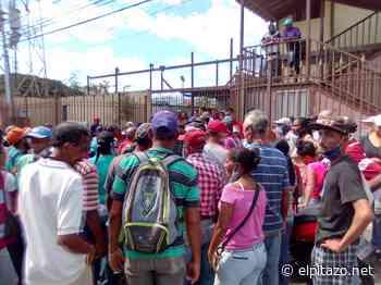 Miranda | Trabajadores municipales en Cúa protestan para exigir pernil prometido por Maduro - El Pitazo