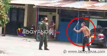 A machete atacaron a policías que intentaron controlar una riña en Oporapa - Laboyanos.com