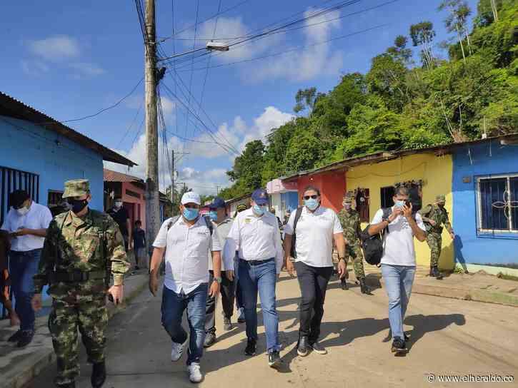 Mindefensa viaja a Montecristo, Bolívar, a atender situación por masacre - El Heraldo (Colombia)