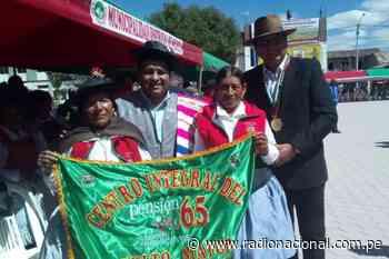 Pensión 65: beneficiarios del programa promueven recuperación de huaylas antiguo en Sicaya - Radio Nacional del Perú