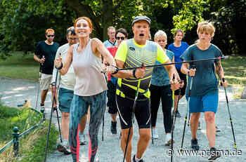 Sportabzeichen für Anfänger: Andrea Sawatzki und Christian Berkel im Interview - Prisma