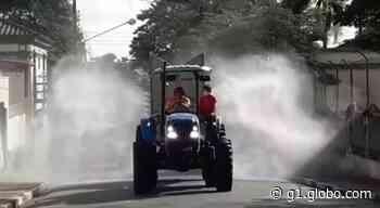 Angatuba vai pulverizar ruas da cidade para reduzir presença do novo coronavírus - G1