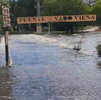 Creció el río en Carlos Paz, Santa Rosa de Calamuchita, Cura Brochero y Villa Icho Cruz - Telediario Digital