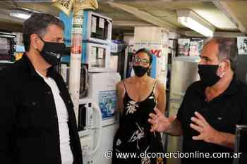 Jorge Macri supervisó el operativo de desinfección en Carapachay - elcomercioonline.com.ar