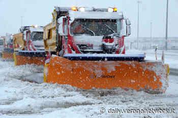 A22, tra Bolzano e Affi fino a 50 centimetri di neve - Daily Verona Network - Daily Verona Network