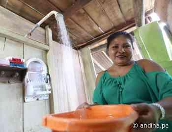 Madre de Dios: resaltan avances en proyecto de agua potable en Laberinto - Agencia Andina